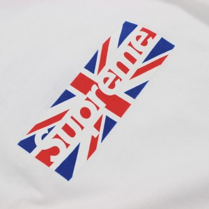 Supreme Union Jack Box Logo...