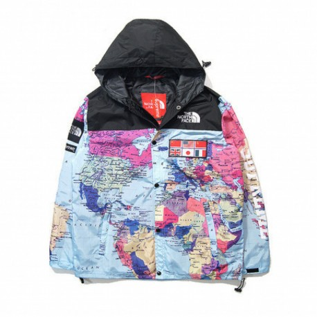 Supreme X The North Face Worldwide Map Jacket