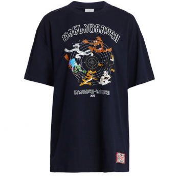 Vetements Cartoon Tee navy