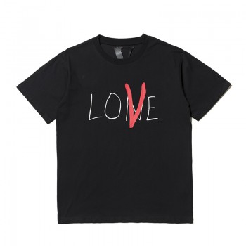 Zero's Vlone Love Tee Black