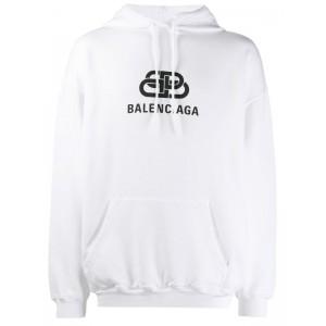Balenciaga New BB hoodie White
