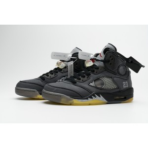 OFF-WHITE x Air Jordan 5 Black