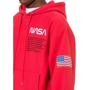 Heron Preston NASA Hoodie Red