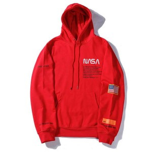 Heron Preston NASA Hoodie Red