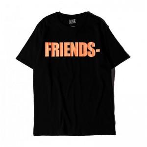 Vlone Friends T-shirt Black...