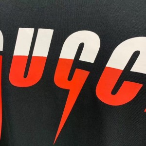 T-shirt with Gucci Blade print